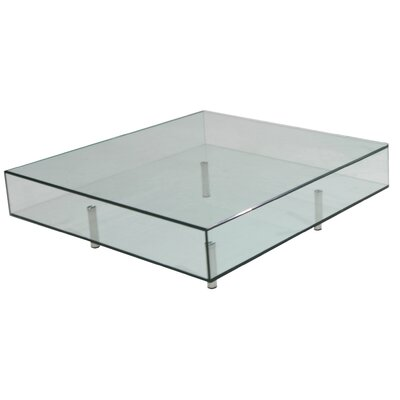 Arron Square Coffee Table Size: 40