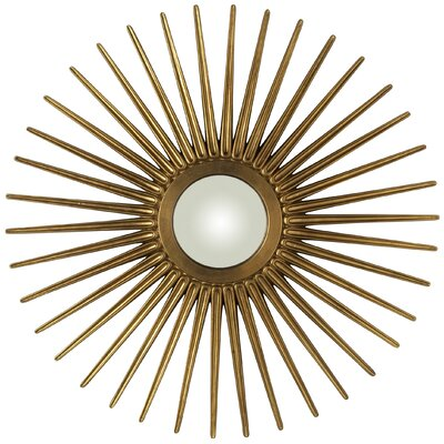 Sunburst Mirror Finish: Antique Gold