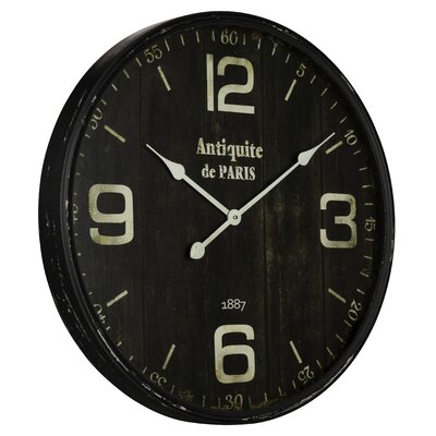 Oversized 23.5 Jedrak Clock