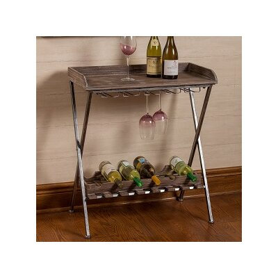 Hoylake 6 Bottle Floor Wine Rack