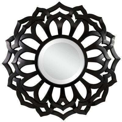 Martin Wall Mirror Finish: Glossy Black