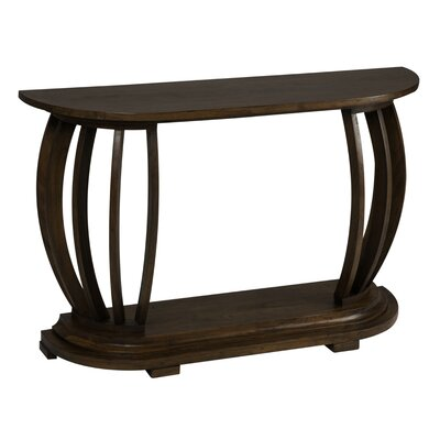 Cheap Cooper Classics Burton Console Table in Distressed Pecan (CO1951)