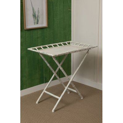 Colden End Table Color: Off-White