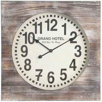 Oversized 27 Augusta Wall Clock