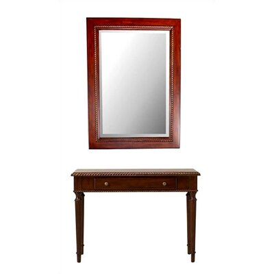 Cheap Cooper Classics Kent 42.5″ HIgh Mirror and Table Set (CO1315)