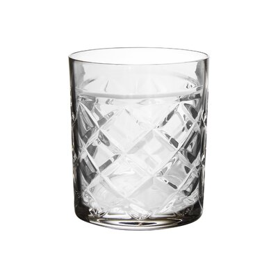 Fitz and Floyd Tufted Crystal Old Fashion Glass 329026-4of