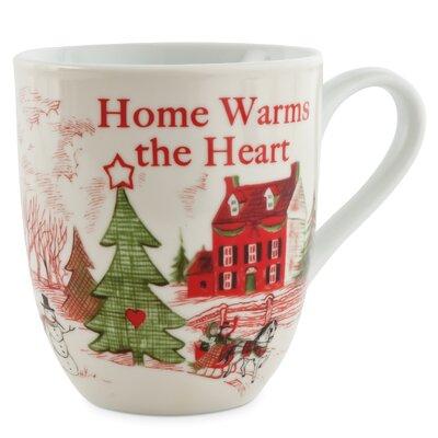 Home Warms The Heart Porcelain Mug (Set of 2) 29-875