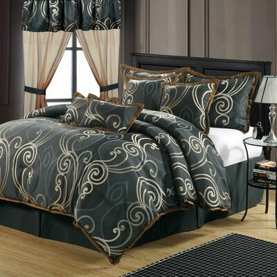 Tivoli 13 Piece Comforter Set Size: Queen