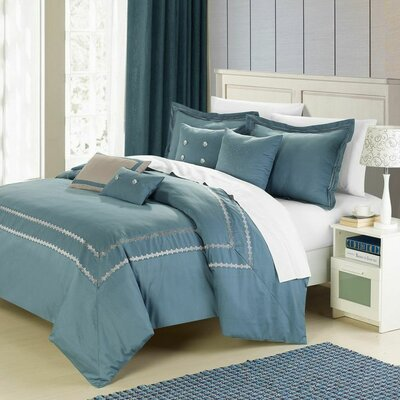 Mandalay 7 Piece Comforter Set Size: Queen