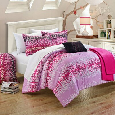 Techno Reversible Comforter Set Size: Full