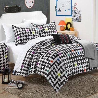 Michelle Reversible Comforter Set Size: Full