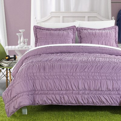 Quilt Set Size: Twin, Color: Purple
