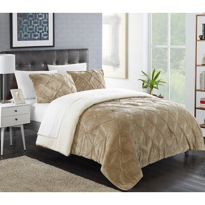Fontane Traditional Comforter Set Size: King