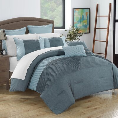 Marbella 11 Piece Comforter Set Size: Queen