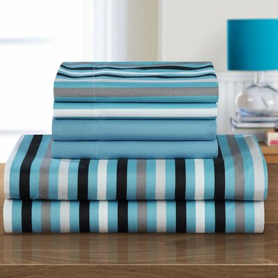 Abigail Sheet Set Size: King, Color: Blue
