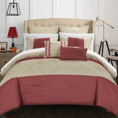 Marbella 7 Piece Comforter Set Size: Queen