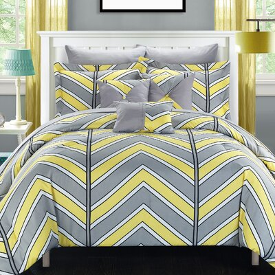 Surfer Reversible Comforter Set Size: Queen