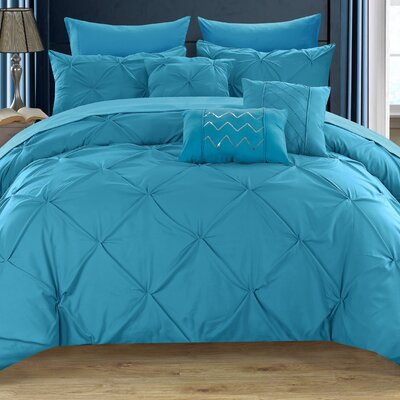 Filicia Contemporary 8 Piece Twin Comforter Set