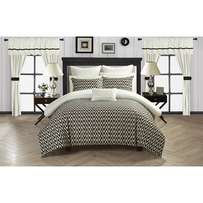 Jacksonville 20 Piece Comforter Set Size: King