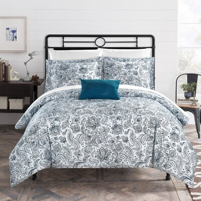 Regents Park Duvet Set Size: Twin, Color: Blue
