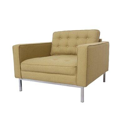Draper Armchair Upholstery: Yellow