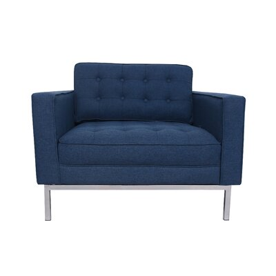 Draper Chair and a Half Upholstery: Blue
