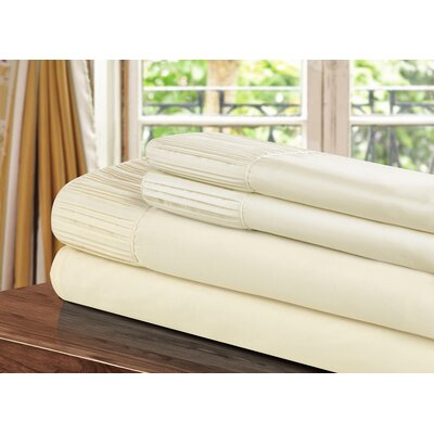 Pleated Sheet Set Size: King
