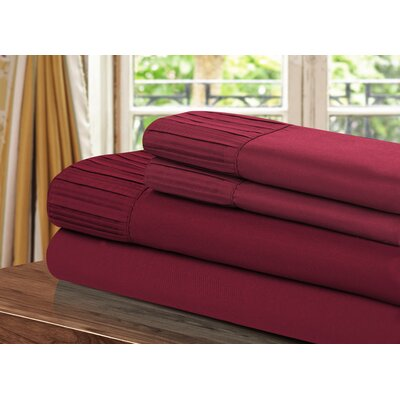Pleated Sheet Set Size: Queen