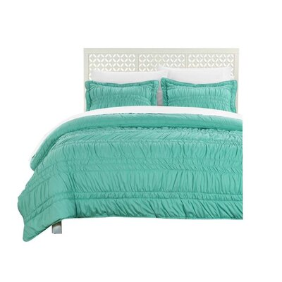 Quilt Set Size: Full, Color: Turquoise