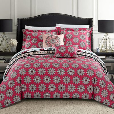 Ellamae King 5pc Comforter Set Size: King