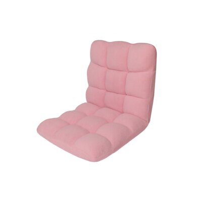 Armless Bean Bag Chair Upholstery: Pink