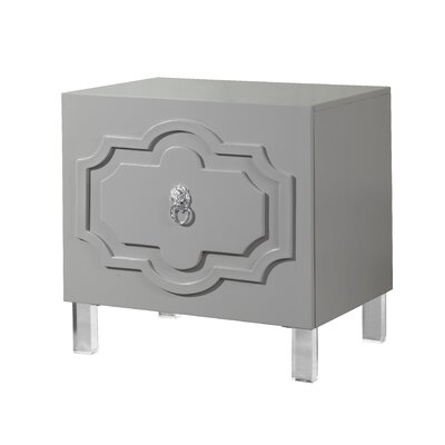 Trinh End Table Finish: Smokey Grey