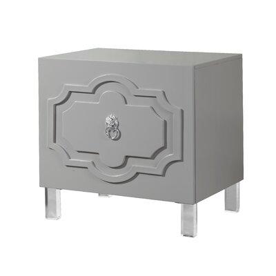 Trinh End Table Color: Smokey Grey