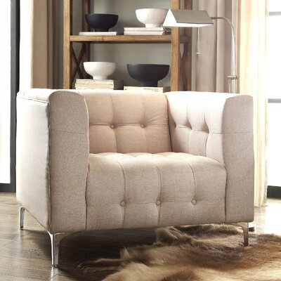 Sandi Armchair Upholstery: Stone