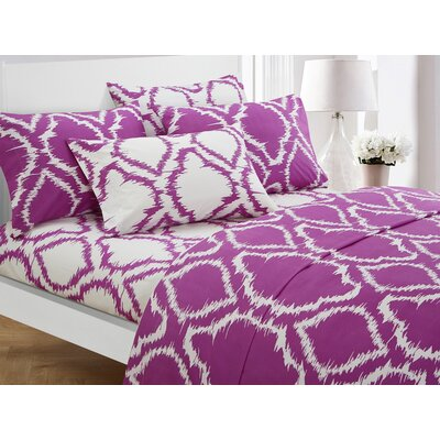 Wallin 4 Piece Twin Sheet Set Color: Lavender