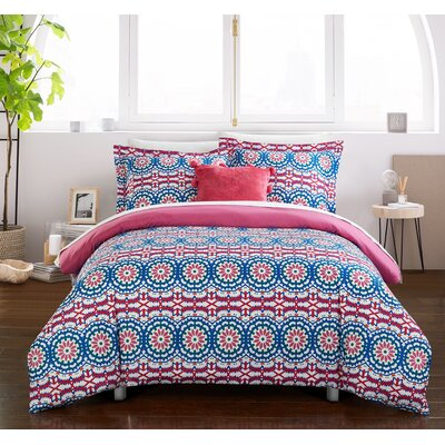 Herbert Reversible Duvet Set Size: Full