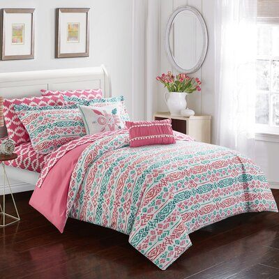 Helena Reversible Comforter Set Size: Full