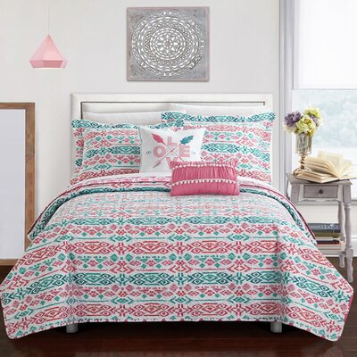 Henrietta Reversible Quilt Set Size: Full