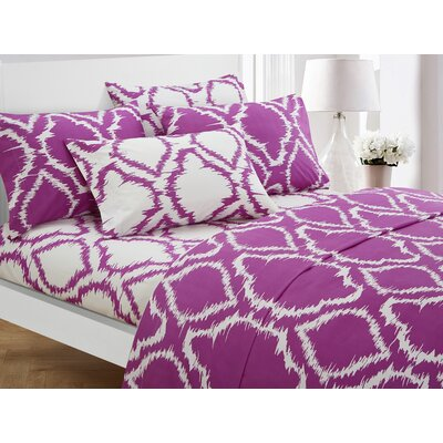 Wallin 6 Piece Sheet Set Color: Lavender, Size: Queen