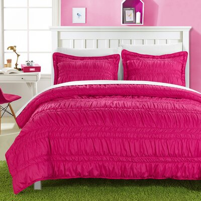Quilt Set Size: Full, Color: Fuchsia