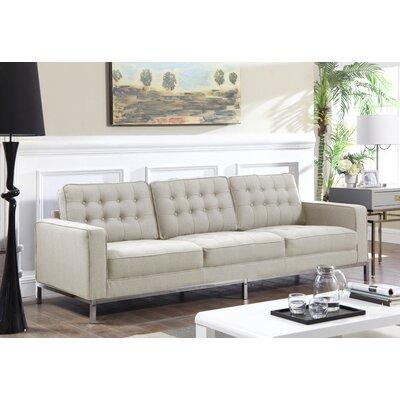 Shehan Sofa Upholstery: Taupe