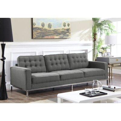 Shehan Sofa Upholstery: Gray