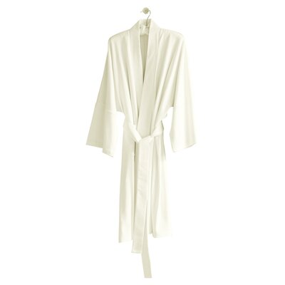 Kimberly Bathrobe Color: Cloud / Ivory