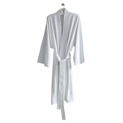 Kimberly Bathrobe Color: White