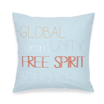 Adventurer Free Spirit Decorative Cotton Throw Pillow