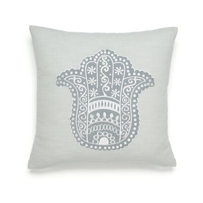Metamorphosis Hamsa Happiness Cotton Throw Pillow