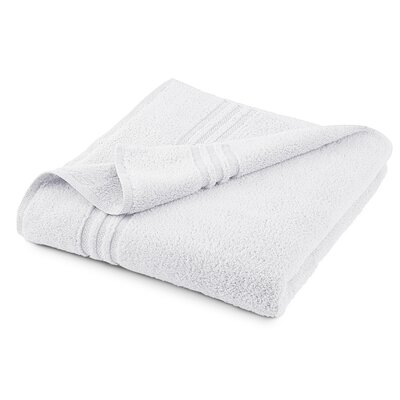Unity Bath Sheet Color: White