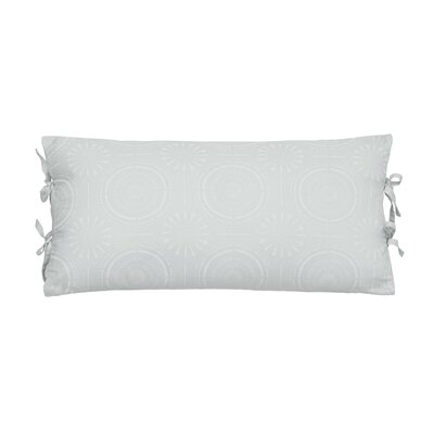 Urban Edgelands Lumbar Pillow Color: Sea Glass Green