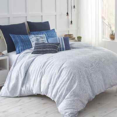 Shibori Chic Comforter Size: Full/Queen