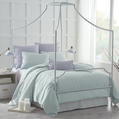 Urban Edgelands Comforter Size: Full/Queen, Color: Sea Glass Green
